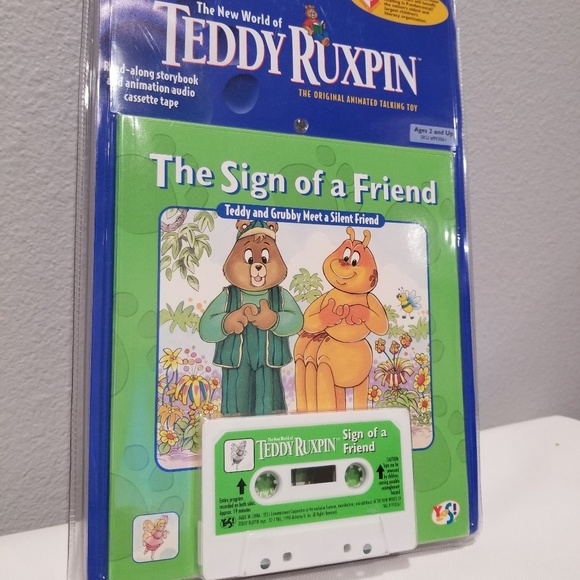 Book and Tape The Sign of a Friend Teddy Ruxpin